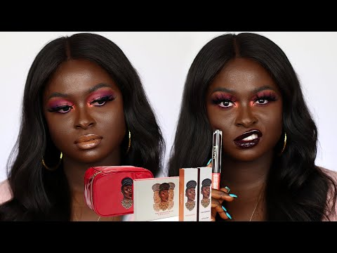 FUMI X JUVIA'S PLACE COLLAB |  THE QUEEN COLLECTION | OH THE TEA!!! | OHEMAA BONSU thumbnail