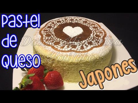 PASTEL DE QUESO JAPONES Autentico, Esponjoso y Delicioso -|| DESDE MI COCINA by Lizzy