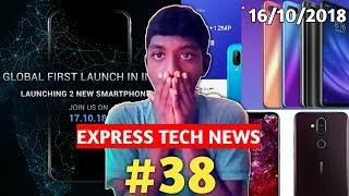 EXPRESS TECH NEWS : Lenovo killer,Nokia 7.1 plus,Xiaomi M8 Lite, What's App,#37