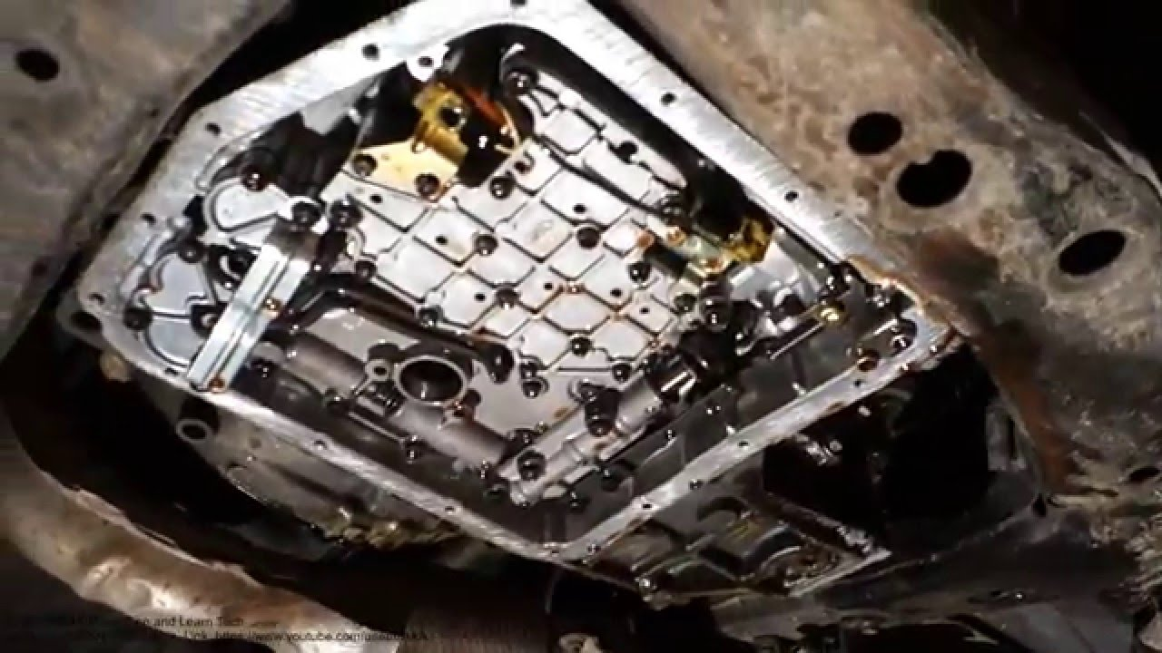Automatic transmission solenoids locations in Toyota Camry