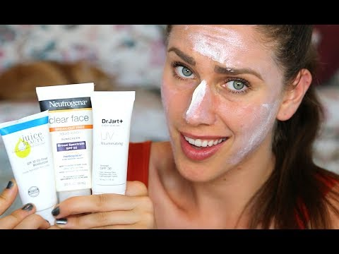 6 Best Sunscreens For Acne Prone Skin That Wont Cause Breakouts | Cassandra Bankson