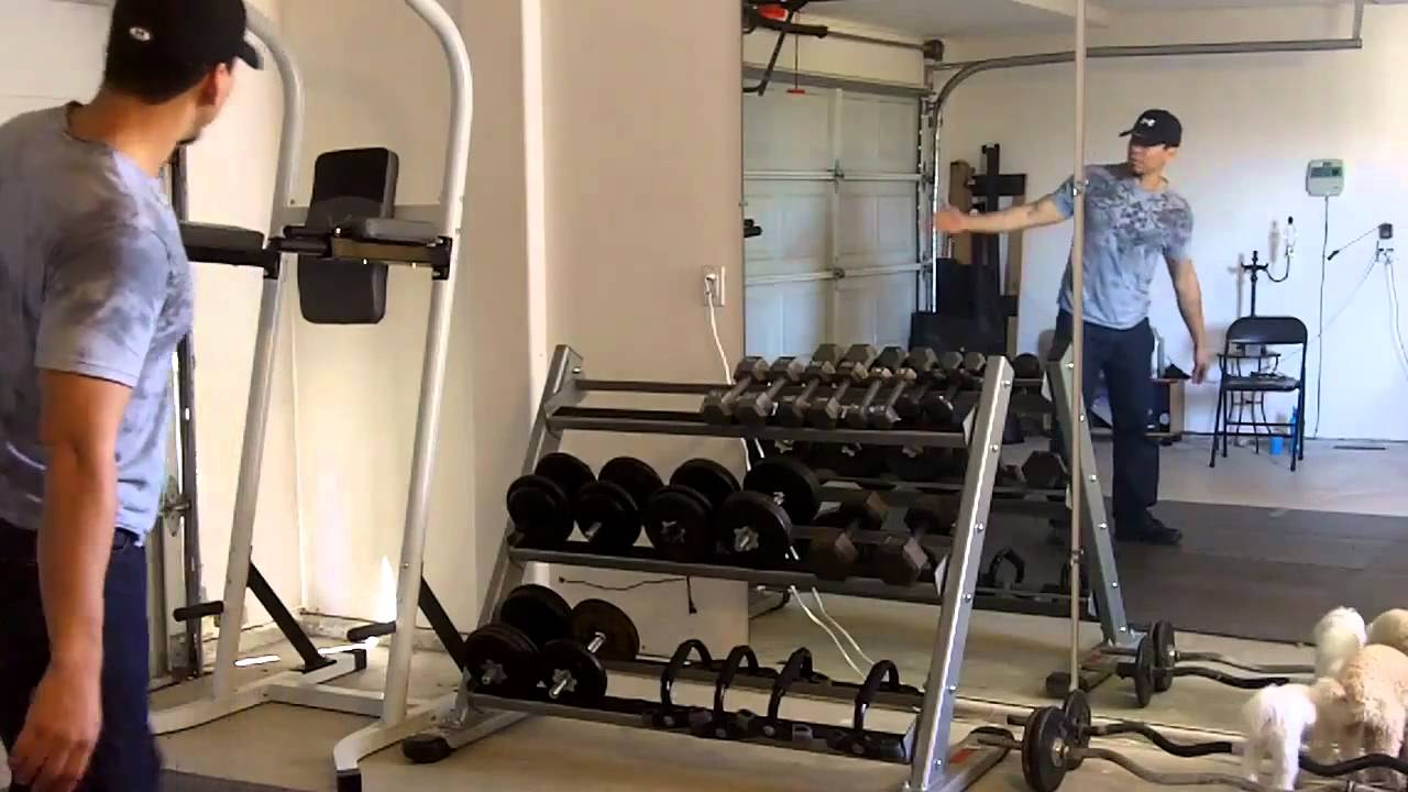 Setting up a home gym for cheap youtube