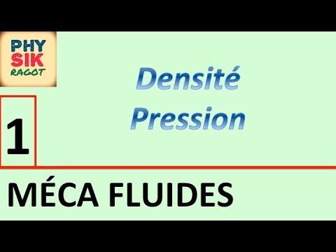La statique des fluides (partie 1)