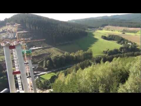 Flug Mit Dem Hexakopter Baustelle Brücke A46 Nuttlar Im Sauerland_1