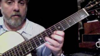 ROB BOURASSA CHORD SOLO LESSON - DOWN BY THE OLD MILL STREAM - PART 3