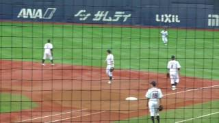 NTT西日本 シートノック(第42回社会人野球日本選手権大会_161102)