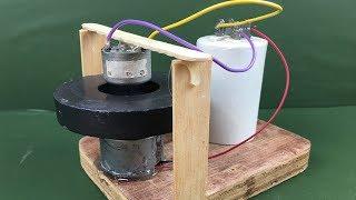 Free energy generator 100% , How to Make self running machine using Dynamo, Science Experiment 2018