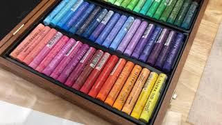 Open Mungyo Gallery Soft Oil Pastels Full set Unboxing Review screenshot 4