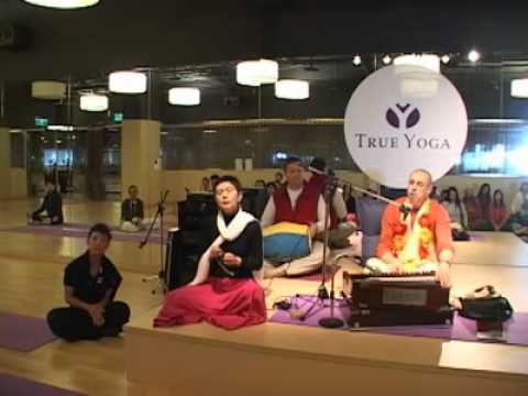 "March 12, 2011 - Taichung, Taiwan - ""True Yoga"" Yoga Center"