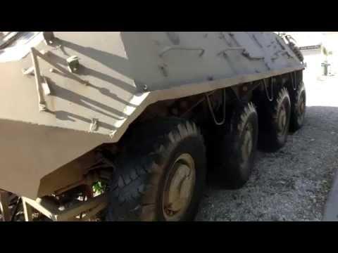 8x8 BTR-60PB APC Russia Syria Egypt - USSR 1960-70s