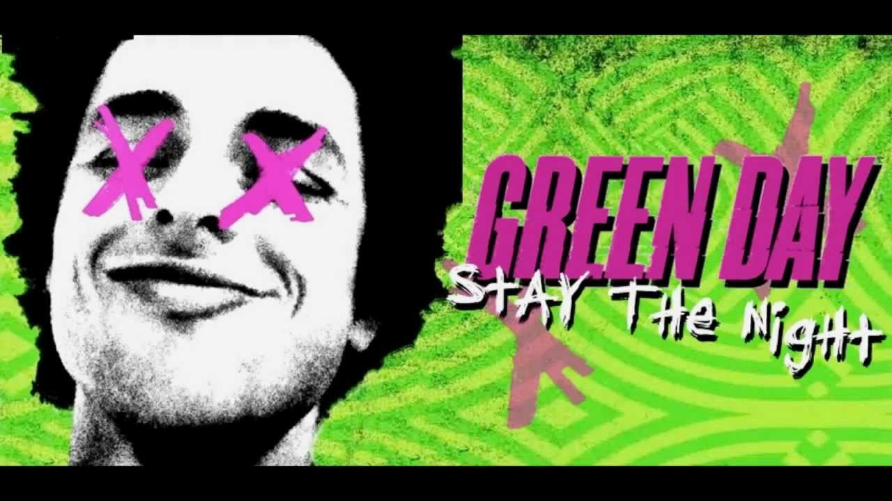 green day stay the night lyric video youtube