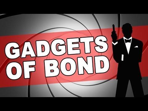The Gadgets of Bond   James Bond Radio Podcast #008