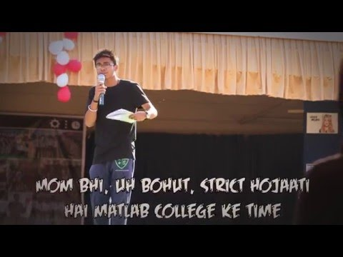 Stand Up Act, Farewell [Delhi Public School, Bhopal] Ft. Aagosh Choudhary {The Idiot Boxers}