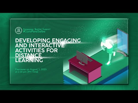 Developing Engaging and Interactive Activities for Distance Learning