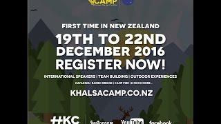 Khalsa Camp New Zealand - First time - Register Now