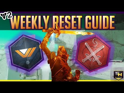Destiny 2 | Weekly Reset Guide (Week 2-Sept 12th) Nightfall, Modifiers, Meditations & More!