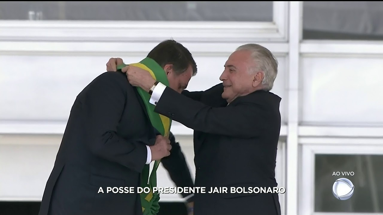 "Posse Jair Messias Bolsonaro ""Subida a Rampa do Planalto"""