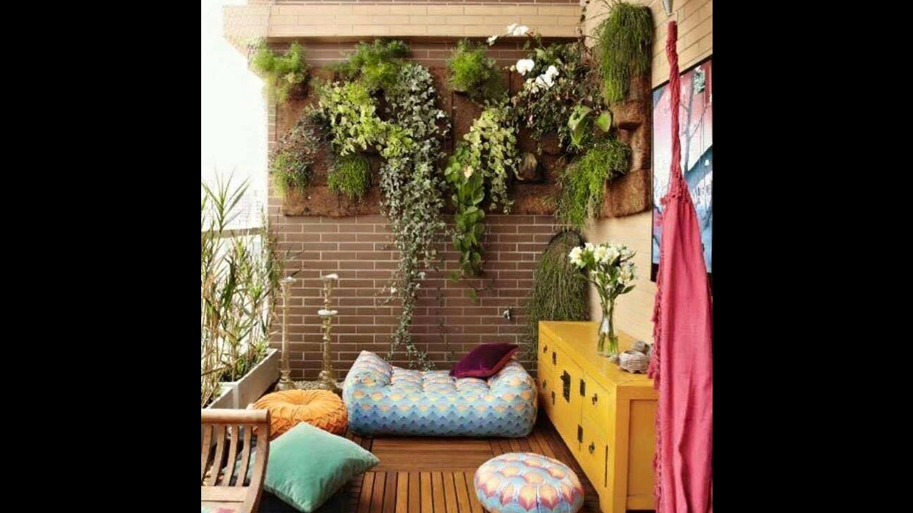 How to Decorate Small Balcony  Best ideas to transform your balcony, patio  & terrace!