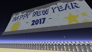 Countdown to New Year's Day 2017 in Minecraft! | Livestream Highlight #14 (31/12/16)