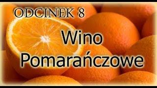 Przepis na 20l wina pomarańczowego ze świeżego soku z owoców:)