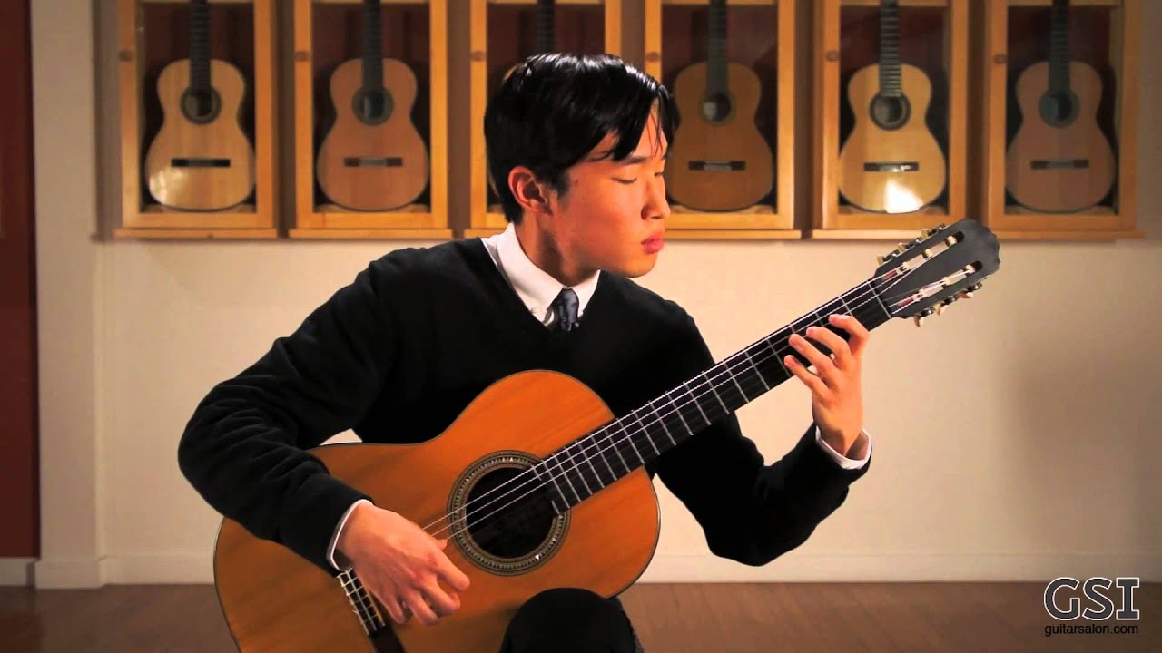 Alex Park plays a 1925 Hermann Hauser I