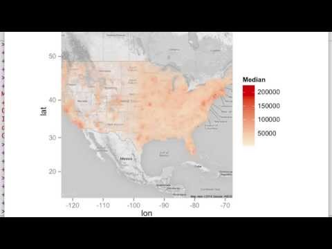 Mapping The United States Census With { ggmap }: Machine Learning with R