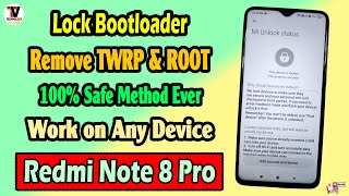 Relock bootloader - Xiaomi Redmi Devices   Hi guys Manoj here from Tech Office. ✍️ Please watch the .