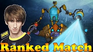 Dota 2 - Na`Vi.Dendi 6537mmr Plays Tinker 73min - Ranked Match