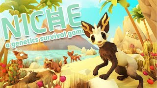CRAZY ANIMAL SURVIVAL! - Combining Genetics and Breeding Animals! - Niche Gameplay