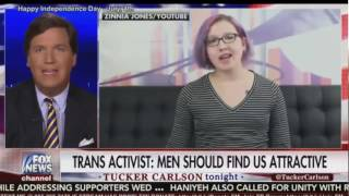 Zinnia Jones on Tucker Carlson Tonight (5 July 2017)