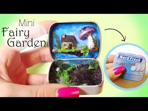 Miniature Fairy Garden Tutorial // Enchanted Forest In A Tin