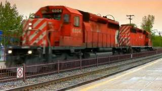 Trains of Canada HD (Video #210) www_LanceCampeau_com