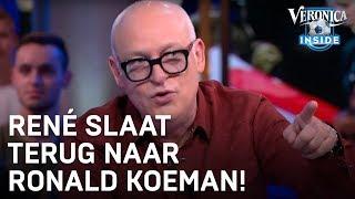 René van der Gijp reageert op geïrriteerde Ronald Koeman in Veronica Inside