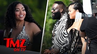 Jordyn Woods Shows Off Curves On Set Of Rick Ross Music Video | TMZ TV