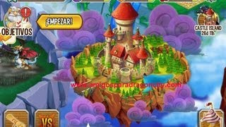 La Isla Del Castillo De Dragon City  Para Iphone y Ipad