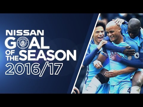 GOAL OF THE SEASON! AGUERO, KOMPANY & STERLING
