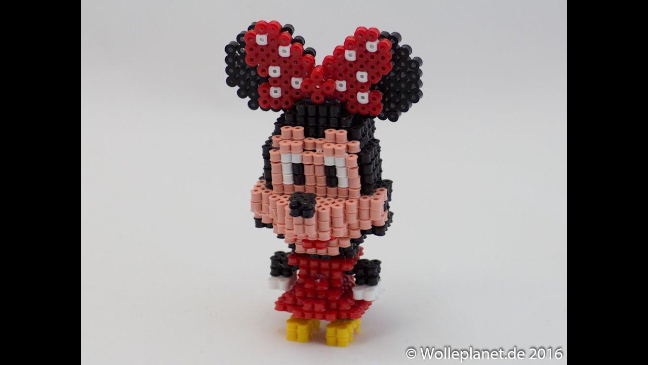 Perler Bead 3d Minnie Mouse Youtube