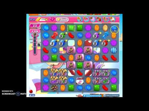 Candy Crush Level 2214 help w/audio tips, hints, tricks