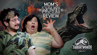 Mexican Mom REACTS to JURASSIC WORLD: FALLEN KINGDOM | Mom's Movie Review - mitu