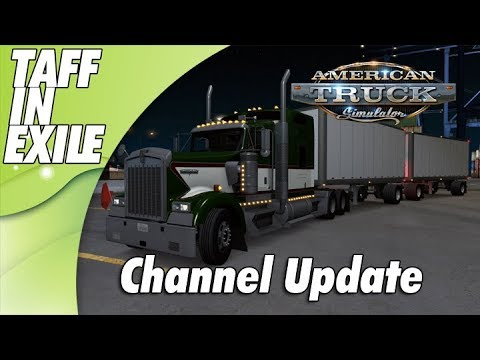 American Truck Simulator   Double Haul   Driving and Channel Update!