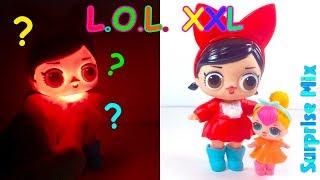 ОГРОМНАЯ Кукла LOL размера XXL - СВЕТИТСЯ В ТЕМНОТЕ? Китайская ПОДДЕЛКА ЛОЛ. GIANT LOL doll FAKE
