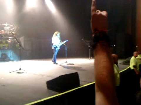 Megadeth El Paso TX 03/28/10