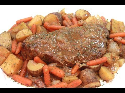 BEST Pot Roast Recipe - Super Tender Beef Roast - I Heart Recipes
