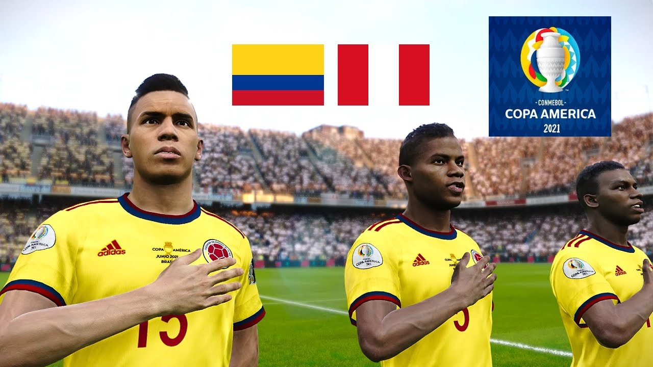 Download Colombia vs Peru ● COPA AMERICA 2021 | 3rd Place Match | 10 July 2021 Gameplay