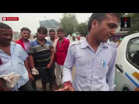 Auto Rickshaw & Taxi Drivers On Strike Stop Private Cabs, Rough Up Their Drivers In Delhi