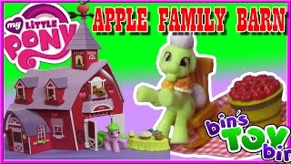 My Little Pony Sweet Apple Acres Barn with Granny Smith! Review by Bin