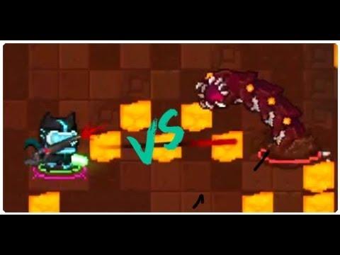 Soul Calibre Vs Volcanic Sandworm!!! (Soul Knight)