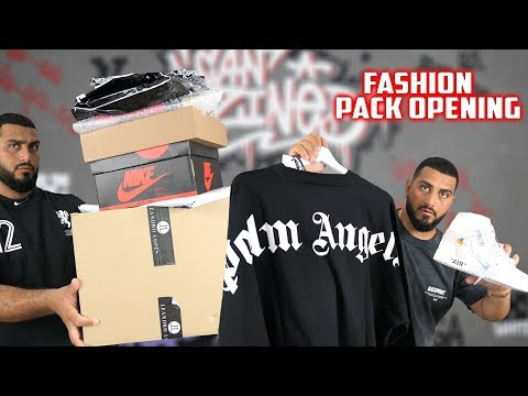 XXL Fashion Pack Opening | Palm Angels, Off White X Nike, Leandro Lopes