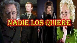 Los 8 personajes más odiados de la saga de Harry Potter