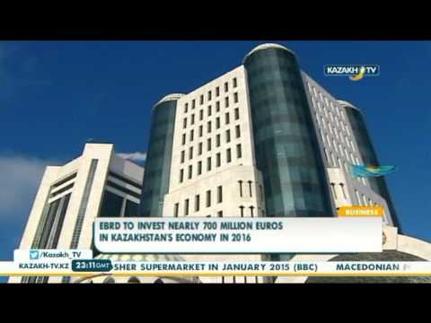 EBRD to invest nearly €700 mln in Kazakhstan's economy in 2016 - Kazakh TV